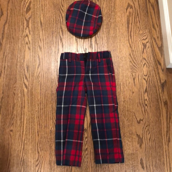 410f3ba0f Janie and Jack Bottoms | Boys Wool Flannel Holiday Pants From Janie ...